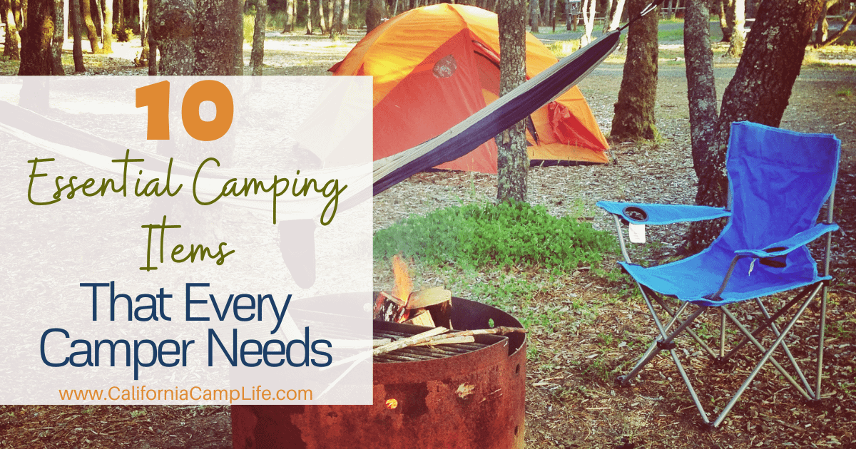 10 Essential Camping Items That Every Camper Needs