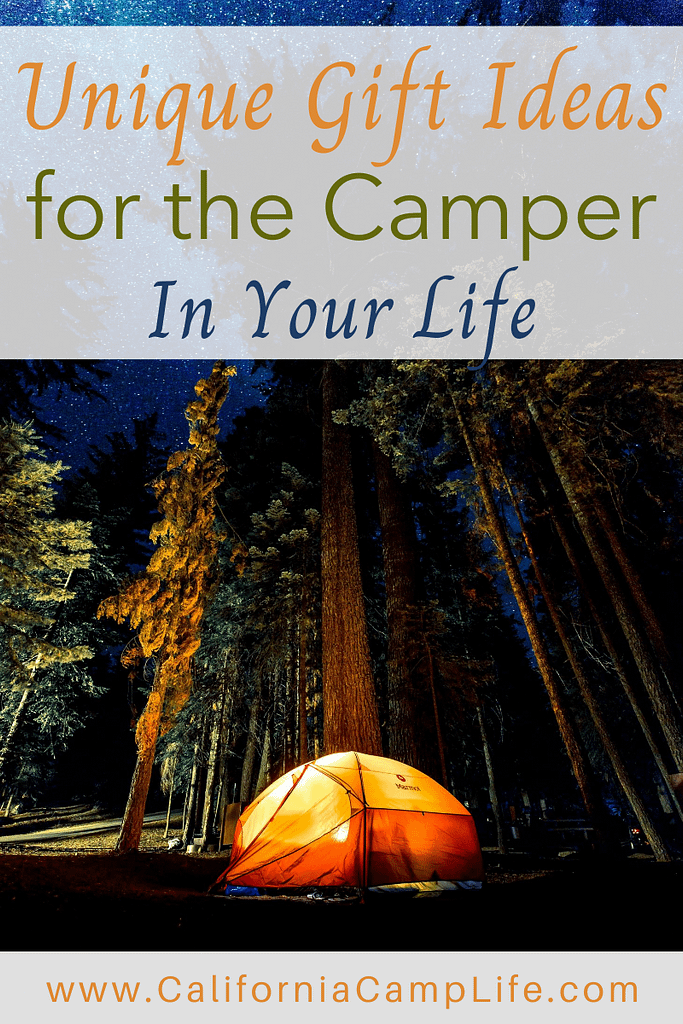Unique Camping Gift Ideas for the Camper in Your Life