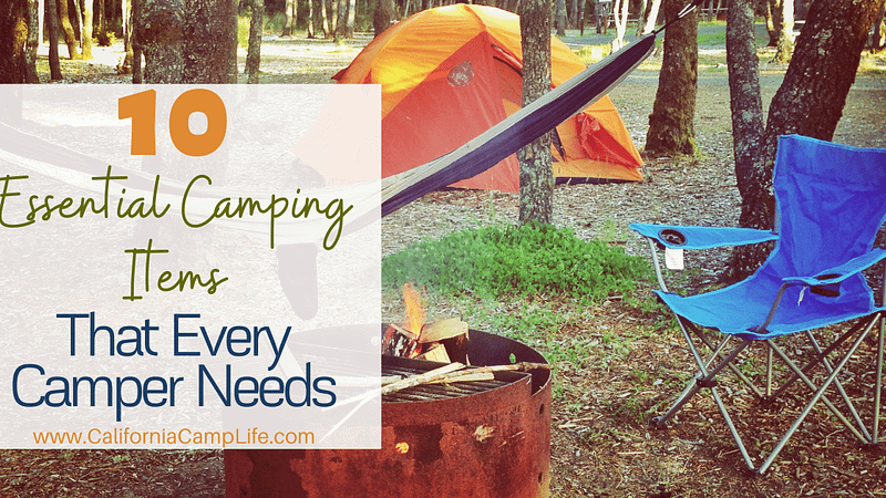 10 Essential Camping Items that Every Camper Needs Featured
