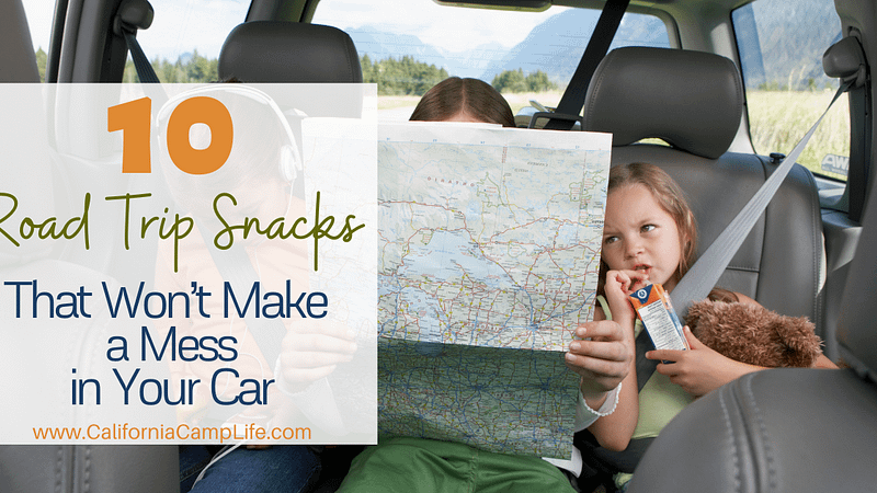 10 Road Trip Snacks That Won't Make a Mess in Your Car